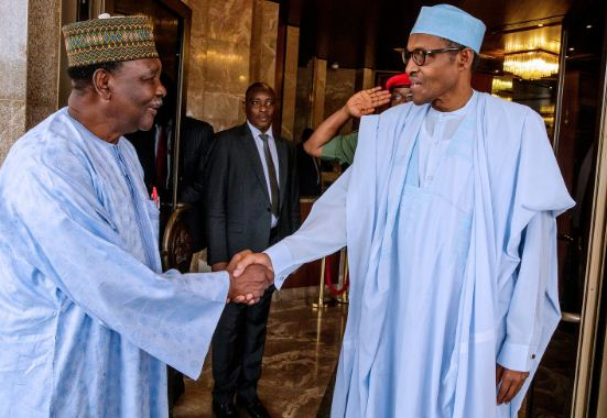 gowon3 - Buhari Meets Former Head of State Gowon (Photos)