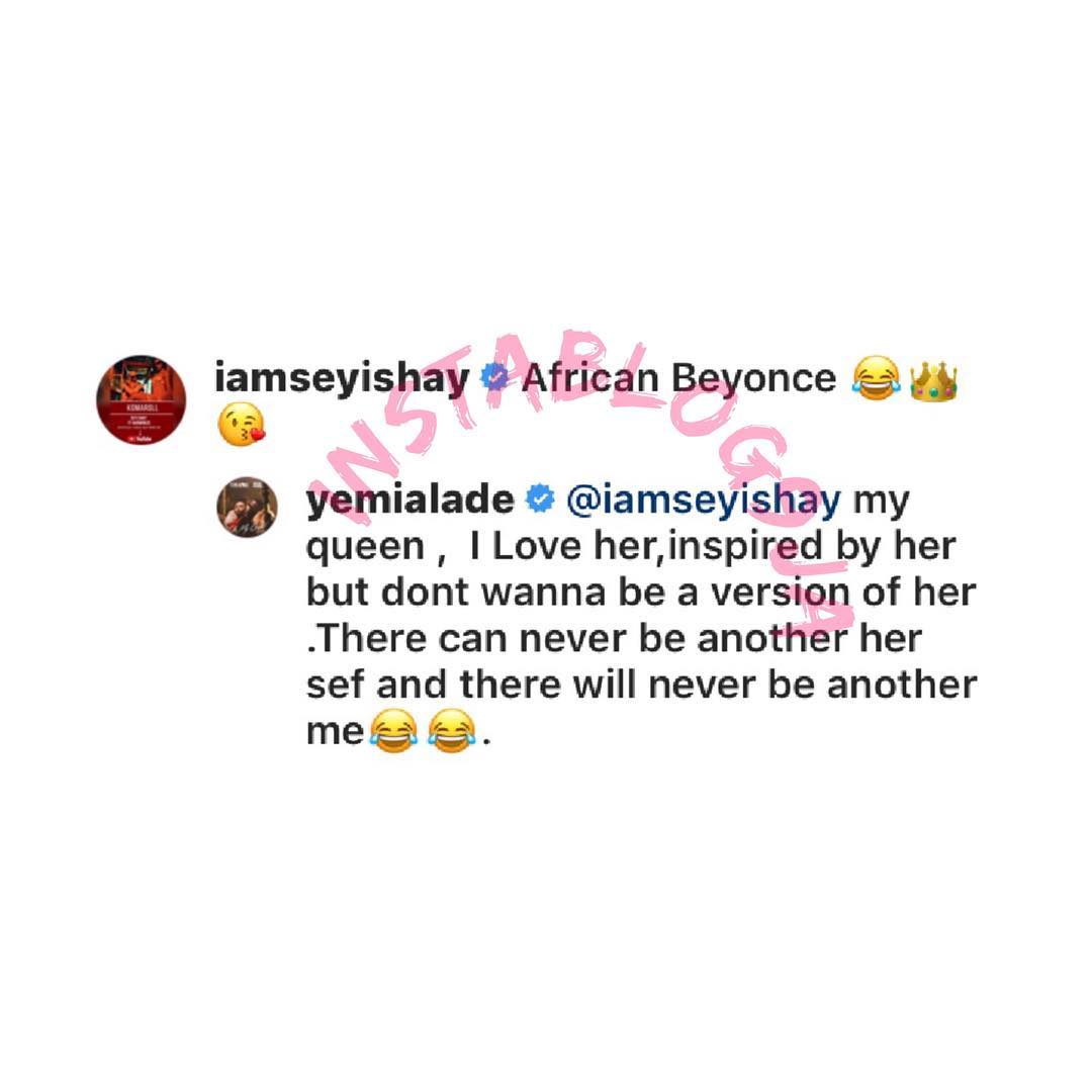instablog9ja 6 5 2019 6 5 12 791 - What Yemi Alade Said After Sheyi Shay Compared Her With Beyonce