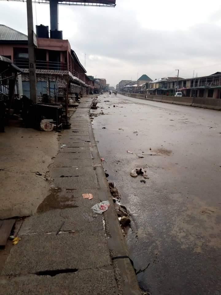 ipob3 - Biafra: IPOB Sit-At-Home Begins (Photos)