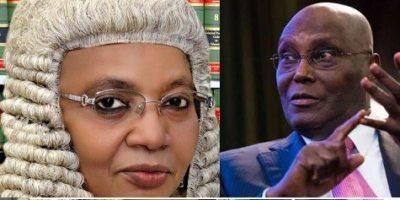 Presidential Election Tribunal: What Atiku Said About Justice Bulkachuwa