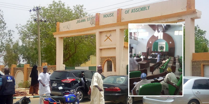 leadership tussle crisis hits jigawa assembly mace destroyed - Leadership Tussle: Jigawa Assembly Mace Broken As Members Fight Over Speakership