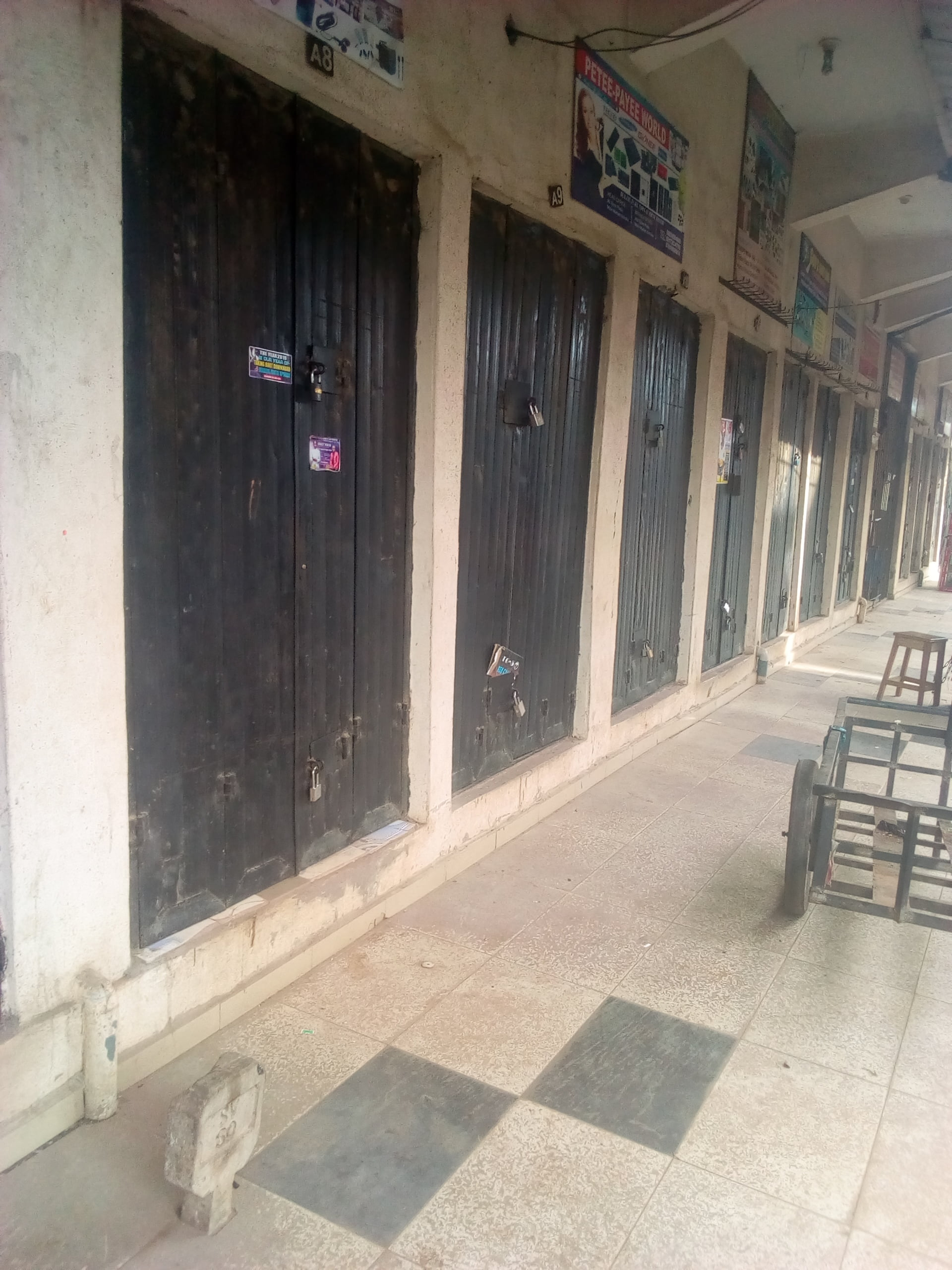 locked shops - Biafra: See What Onitsha, Other Cities Look Like As IPOB Observes Sit-At-Home (Photos)