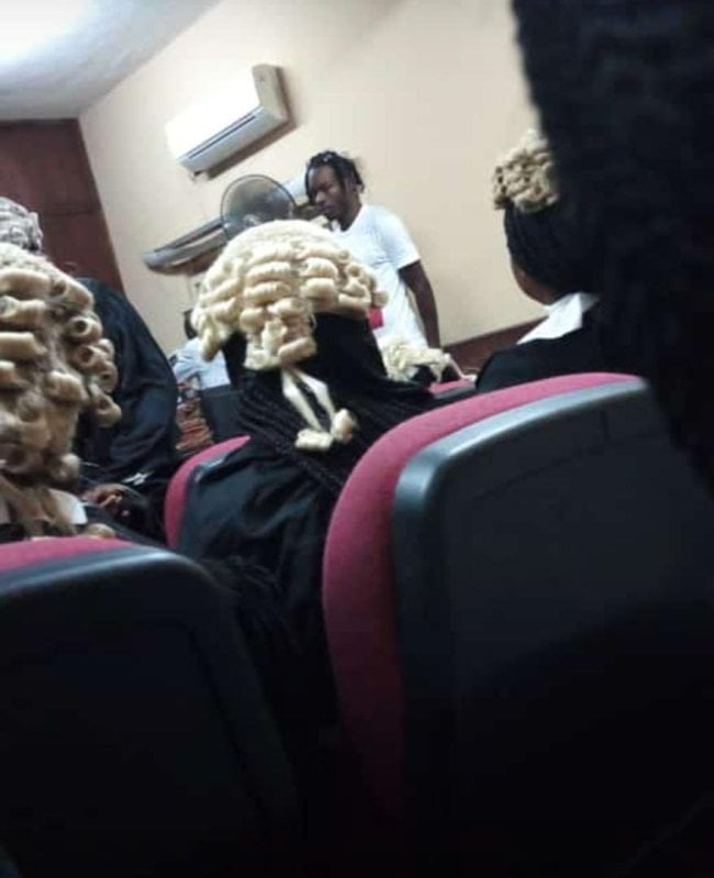 marley 2 - Photos: EFCC Arraigns Naira Marley In Court
