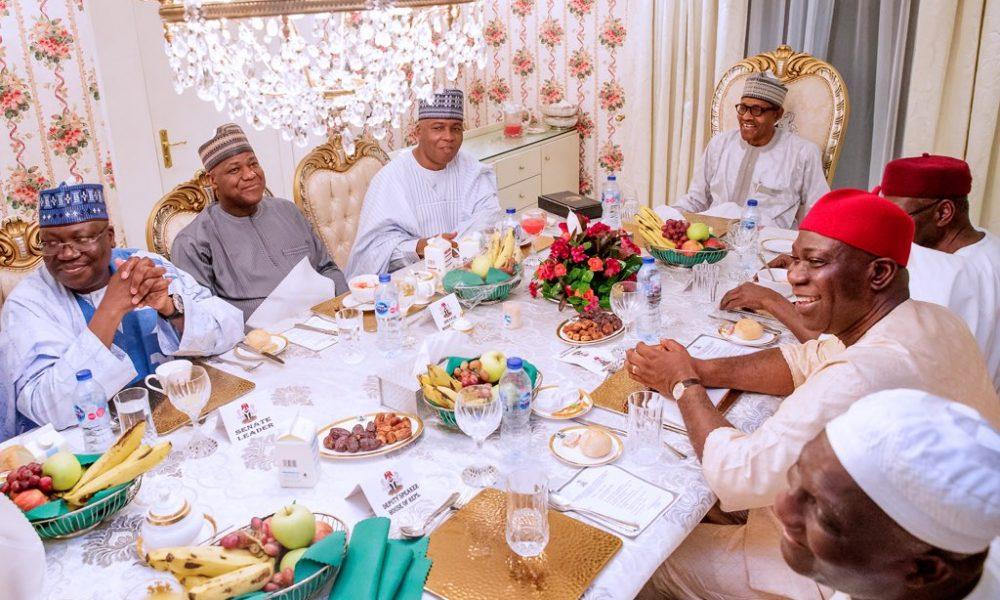 sars 1000x600 - Breaking: Buhari Meets Saraki, Dogara, Others (Photos)