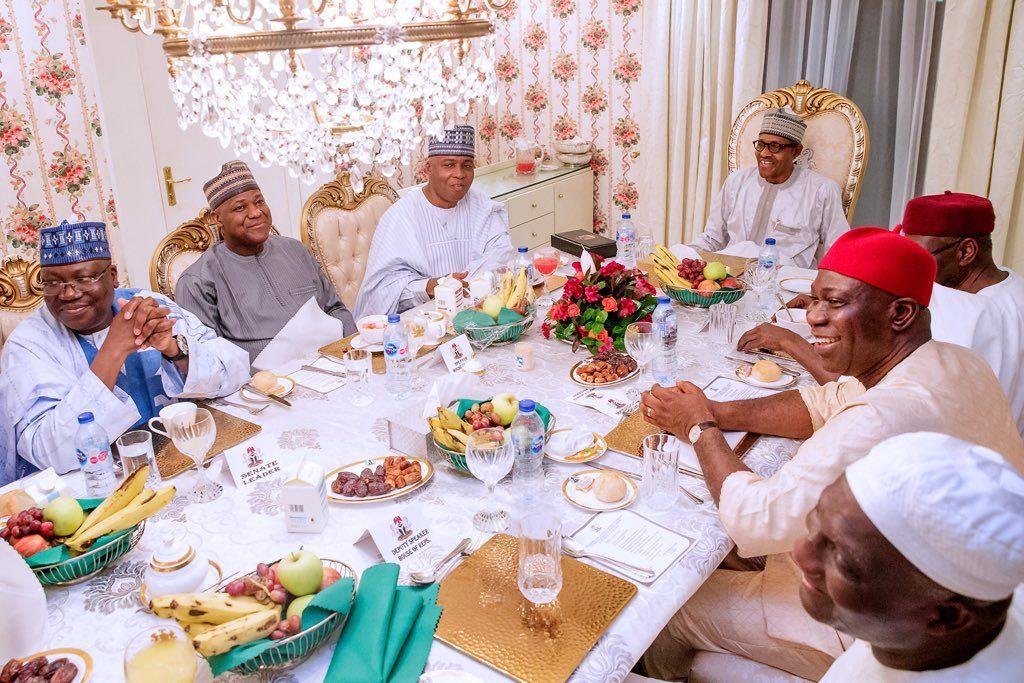 sars 1024x683 - Breaking: Buhari Meets Saraki, Dogara, Others (Photos)