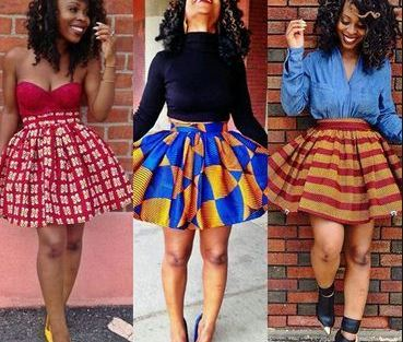 short gown.9 - Latest Ankara Short Gown Styles And Designs