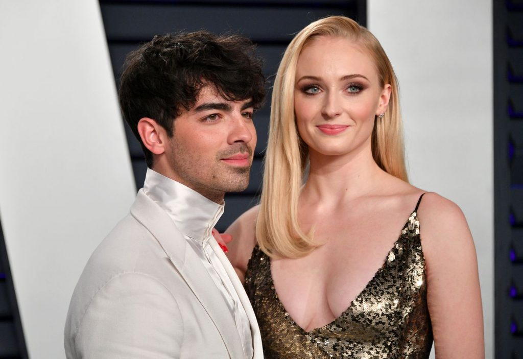 sophie turner 1024x703 - Game Of Thrones Star Weds Long-time Boy Friend (Video)