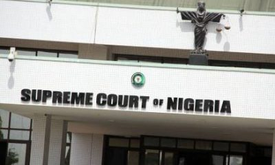 Breaking Supreme Court Rules Against APC In Zamfara