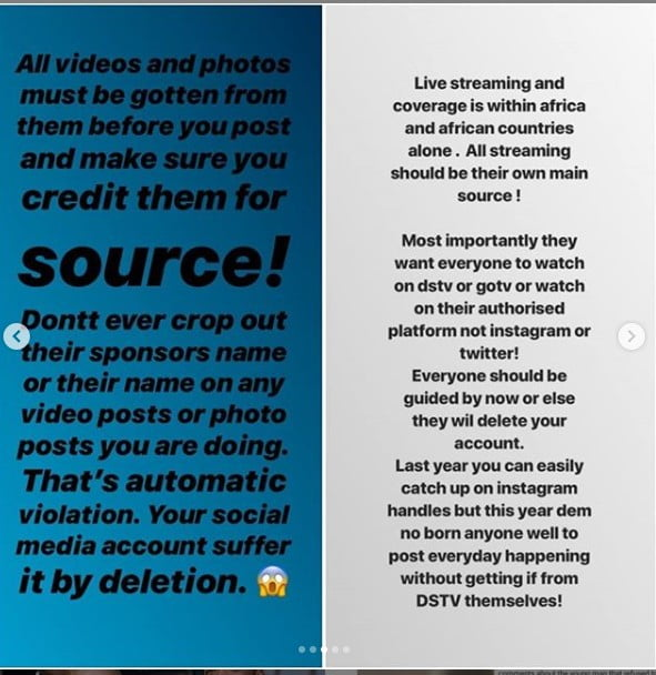 9707964 multichoicetoreportsocialmediaaccountsthatlivestreams2019bbnaijaunclesuru3 jpegf1390c797d0970ebf0ee36aa601bca17 - Multichoice Reveals What It Will Do To Those That Live Stream 2019 BBNaija