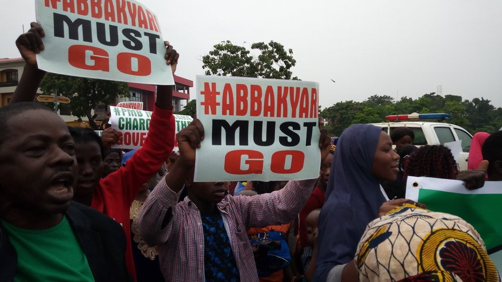 Nigerians React As 'Abba Kyari Must Go' Protest Rocks Abuja