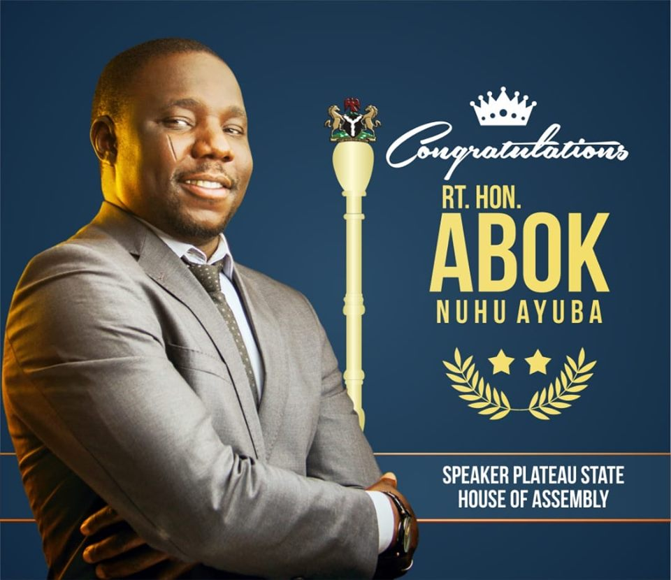 Abok - 33-Year-Old Ayuba Emerges Speaker Of Plateau Assembly Unopposed