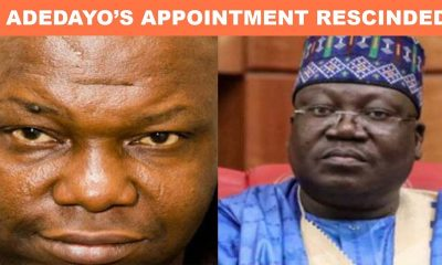 Nigerians React As Lawan Drops Festus Adedayo