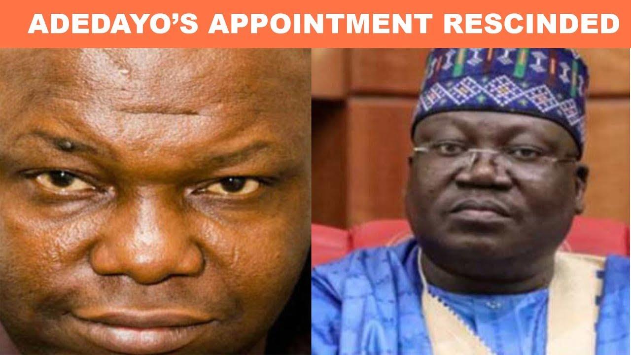 Nigerians React As Lawan Drops Festus Adedayo
