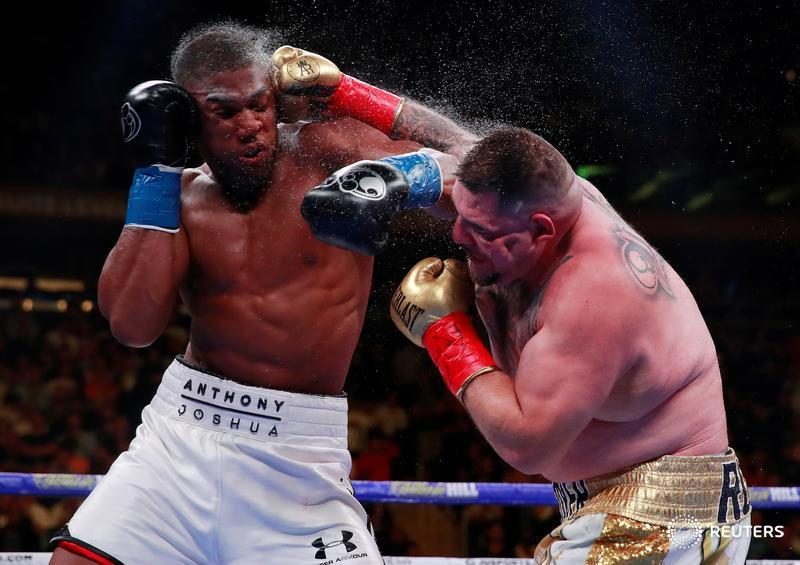Reactions Trail Anthony Joshua's Shock Defeat To Ruiz