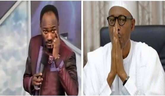 How Buhari Wasted 12 Minutes Of My Life - Apostle Suleman