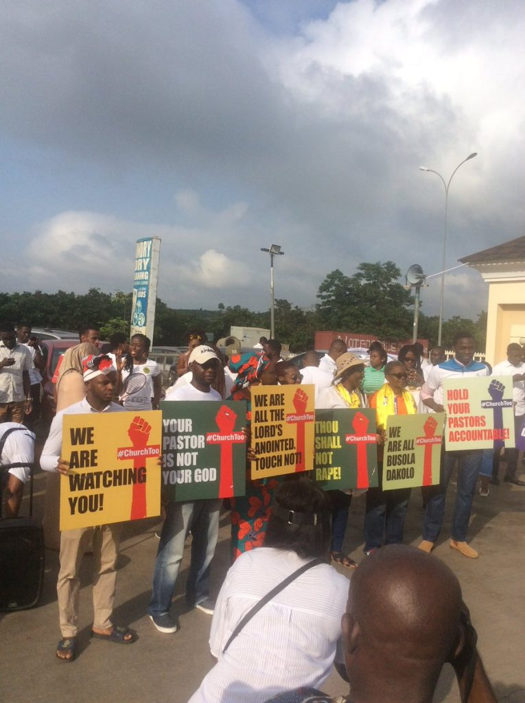 D SupxvXYAAcwc0 765x1024 - Photo News: Protesters Storm COZA Lagos, Abuja