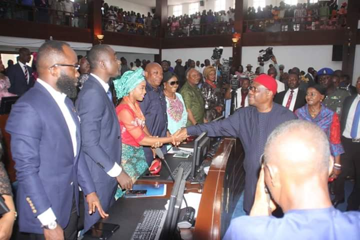 D8I4sOhW4AUuhI5 - See What Wike Told Lawmakers At Inauguration Of Ninth Rivers Assembly