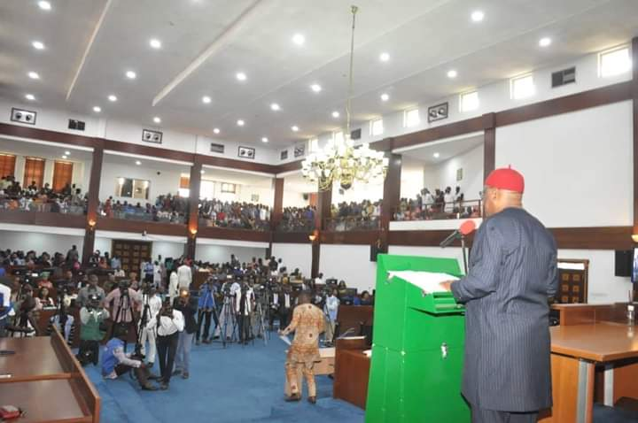 D8I4xtMW4AAzALY - See What Wike Told Lawmakers At Inauguration Of Ninth Rivers Assembly