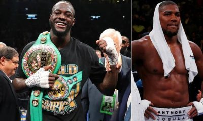 Deontay Wilder Roasts Anthony Joshua After Ruiz's Defeat