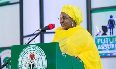 Call Me 'First Lady', Aisha Buhai Tells Nigerians