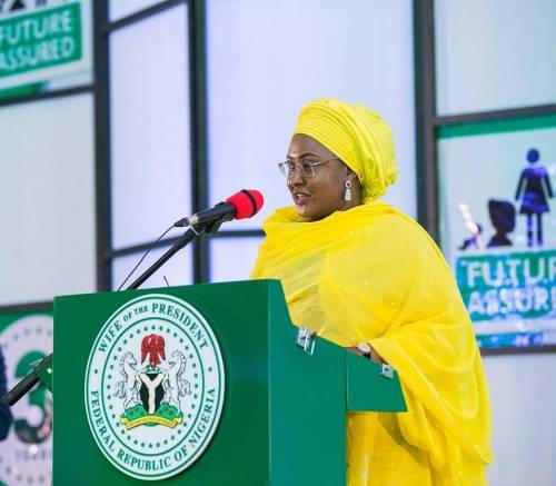 Call Me 'First Lady', Aisha Buhai Tells Nigerians