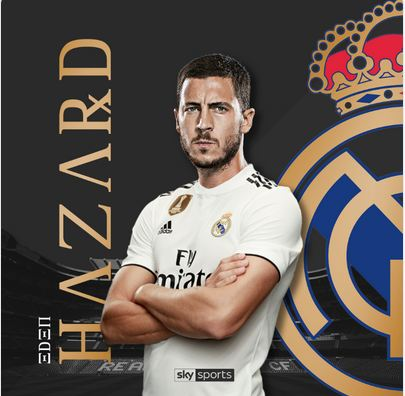 Chelsea's Hazard Completes Record Breaking Move To Real Madrid