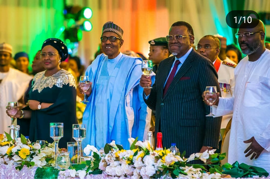 IMG 20190612 010219 - Democracy Day: Buhari Hosts World leaders To Dinner, Gala Night [PHOTOS]