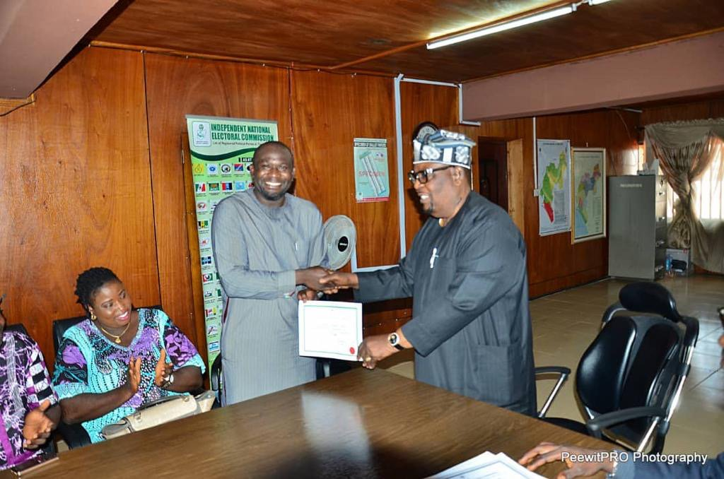 INEC - Why INEC Withdrew Certificate Of Return From Serving Ondo Lawmaker