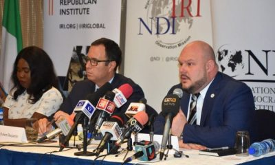 IRI/NDI Releases Final Report On Nigeria's 2019 Elections