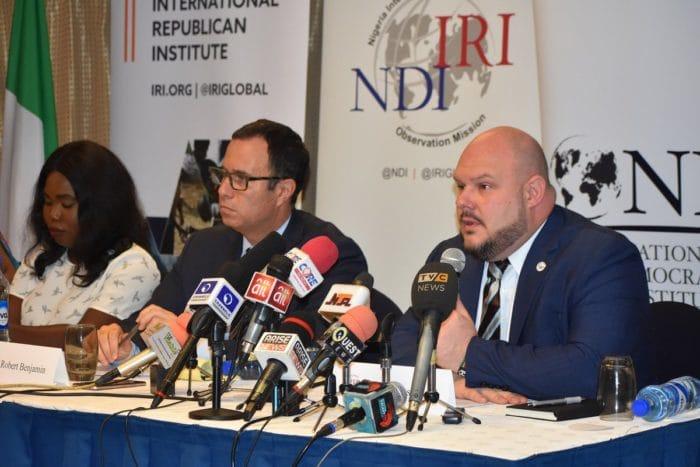 IRI/NDI Releases Final Report On Nigeria's 2019 Elections