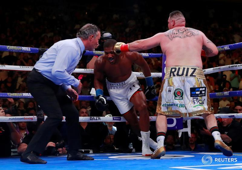 Andy Ruiz Vs Anthony Joshua: See Date, Venue For Rematch