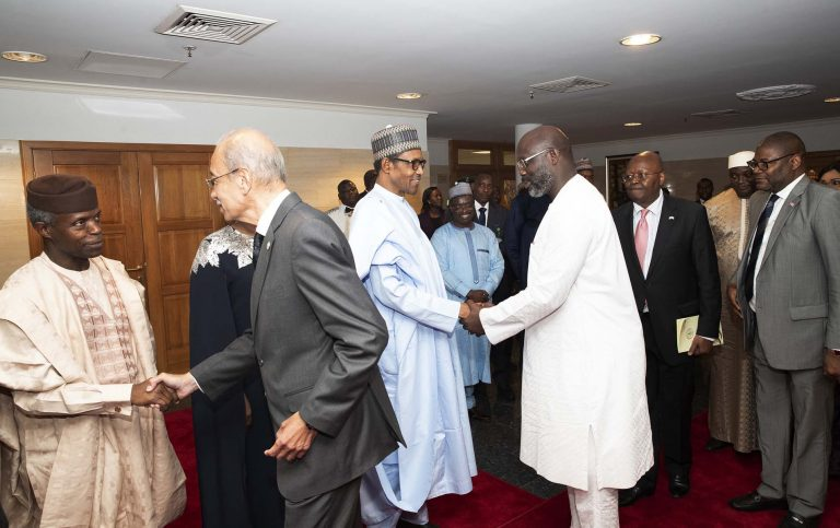 June12 Dem 1 - Democracy Day: Buhari Dines With African Leaders (Photos)