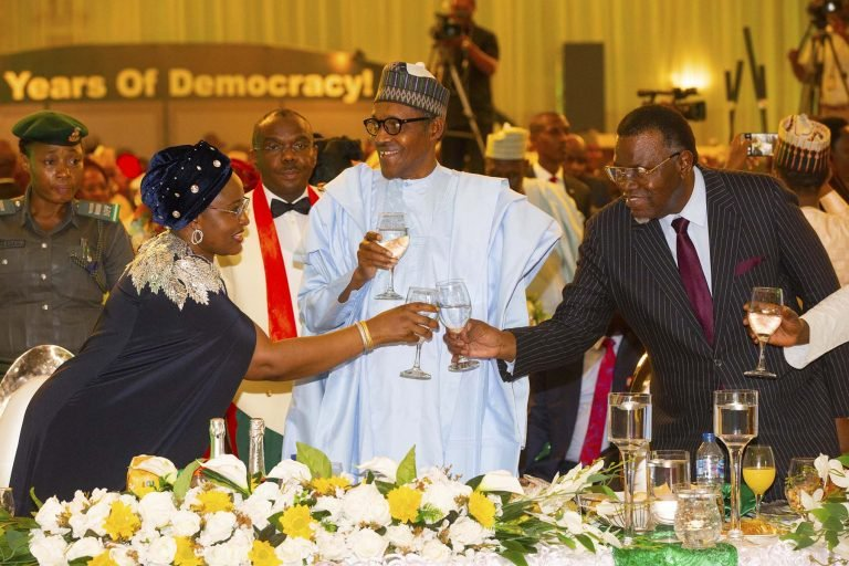 June12 Dem 11 - Democracy Day: Buhari Dines With African Leaders (Photos)