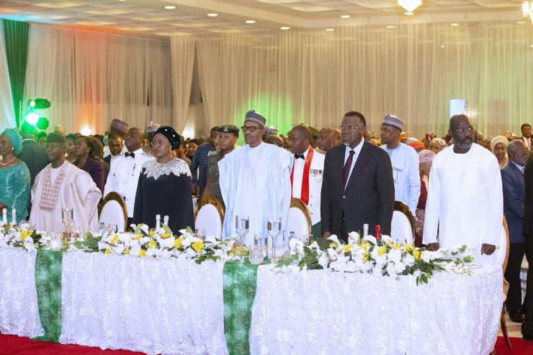 June12 Dem 12 - Democracy Day: Buhari Dines With African Leaders (Photos)