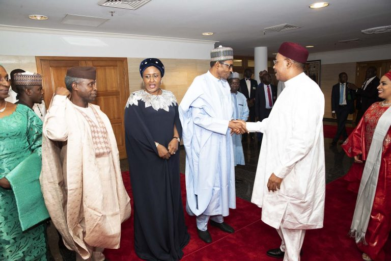 June12 Dem 2 - Democracy Day: Buhari Dines With African Leaders (Photos)