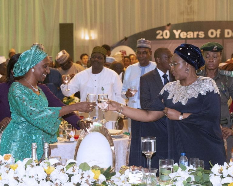 June12 Dem 5 - Democracy Day: Buhari Dines With African Leaders (Photos)
