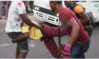 LASTMA And Tricycle Rider