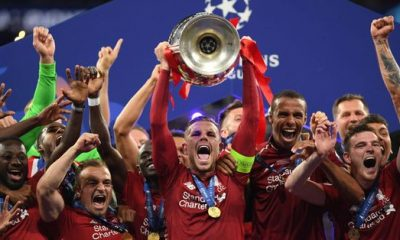 Liverpool Beat Tottenham 2-0 To Win UEFA Champions League