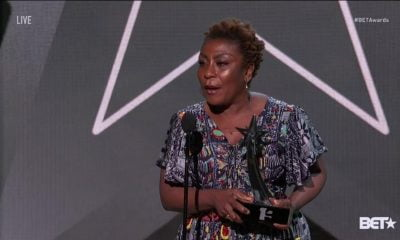 Nigerians Melt Twitter Over Mama Burna's 'Powerful Speech' At #BETAwards
