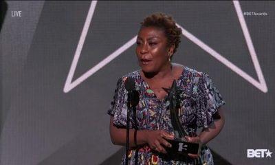 Nigerians Melt Twitter Over Mama Burna's 'Powerful Speech' At #BETAwards