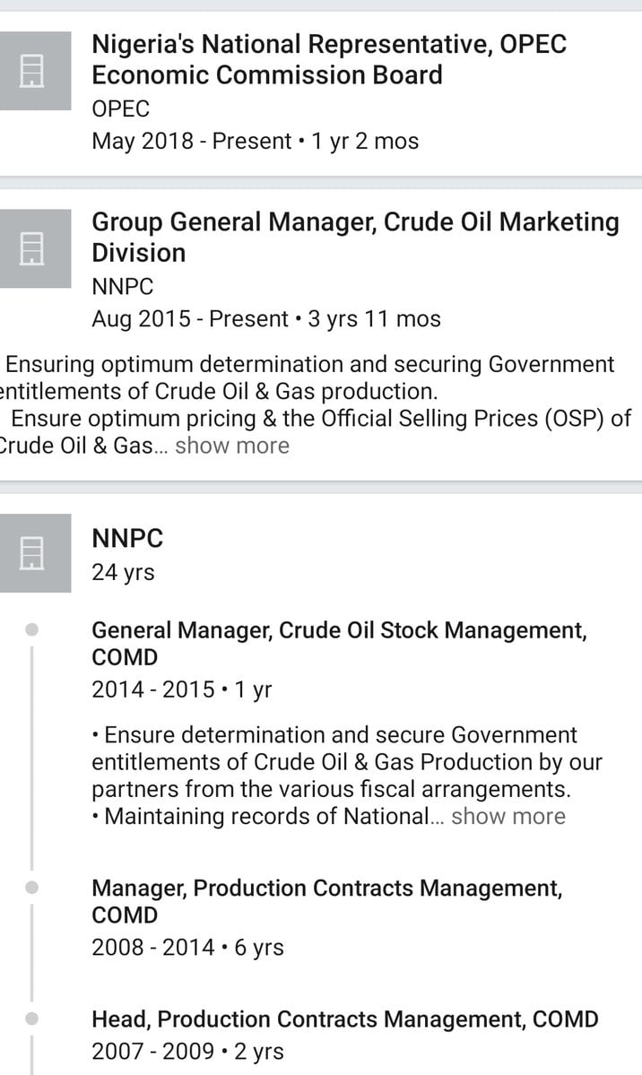 Mele Kyari Proile 2 - Who Is Mele Kyari? Check Out Profile Of New NNPC GMD