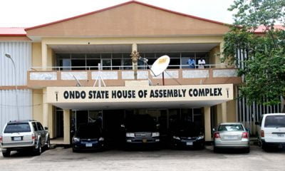 Ondo Assembly Sacks 18 LG Council Chairmen
