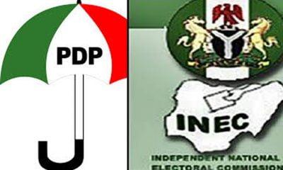 PDP Roasts Mahmood Yakubu, Says INEC Is 'Corrupt, Compromised'