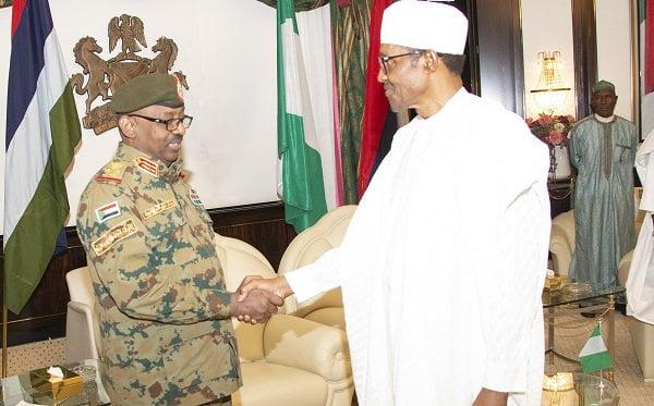 PRESIDENT BUHARI RECEIVES SUDAN ENVOY 1 1 - Buhari Receives Sudan's Envoy In Abuja (Photos)