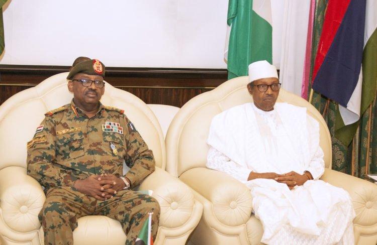PRESIDENT BUHARI RECEIVES SUDAN ENVOY 2 750x488 - Buhari Receives Sudan's Envoy In Abuja (Photos)