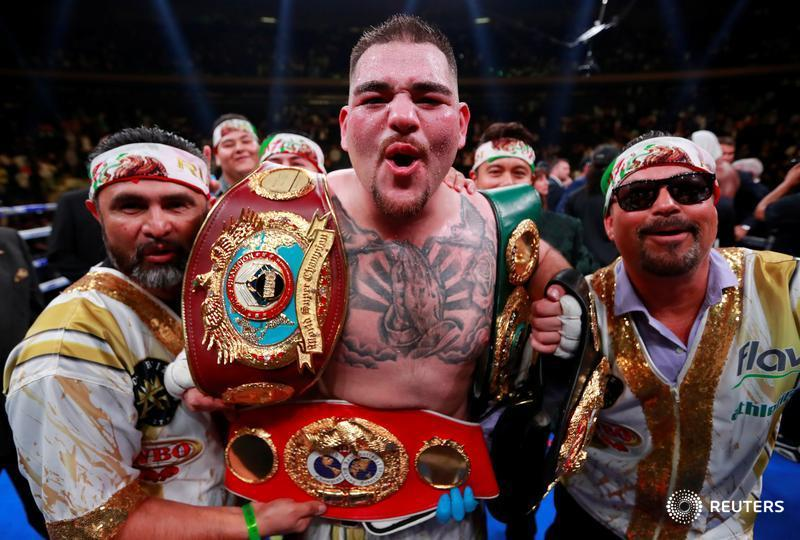 Ruiz - Breaking: Ruiz Destroys Anthony Joshua (Video)