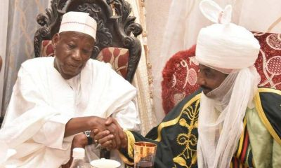 Ganduje vs Sanusi: Fayemi, Masari, Others To Reconcile Kano Gov With Emiron On Meeting Ganduje (Photo)