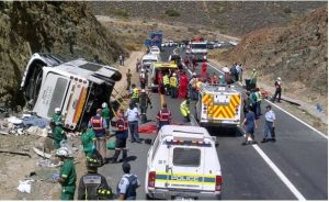 South Africa Accident 300x184 - 5 Persons Dead, Many Others Injured In Ondo Accident n