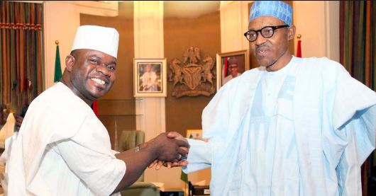 Yahaya Bello Speaks On Obaseki, Reveals What Buhari Is Doing About APC Crisis