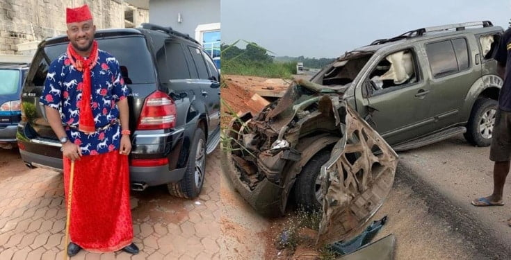 Nollywood : Yul Edochie victime d'un accident de la route